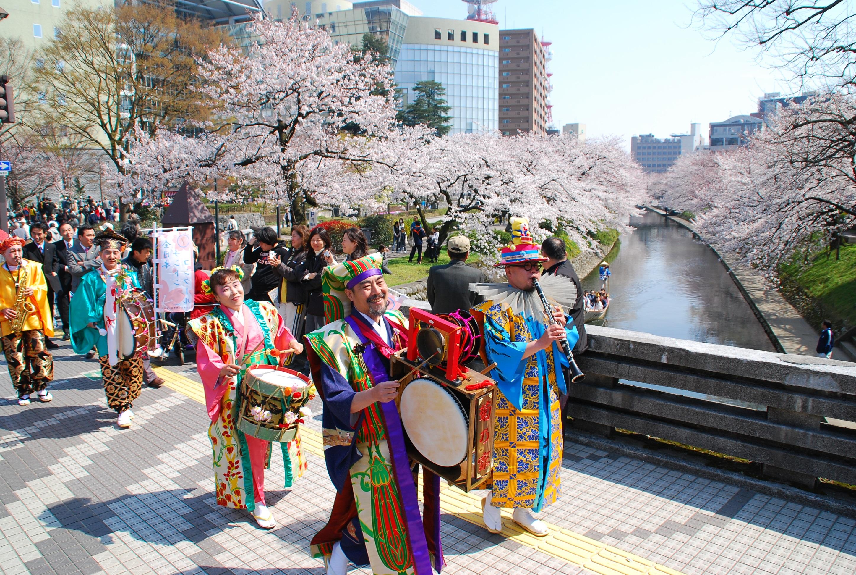 40 富山県富山市「松川公園」