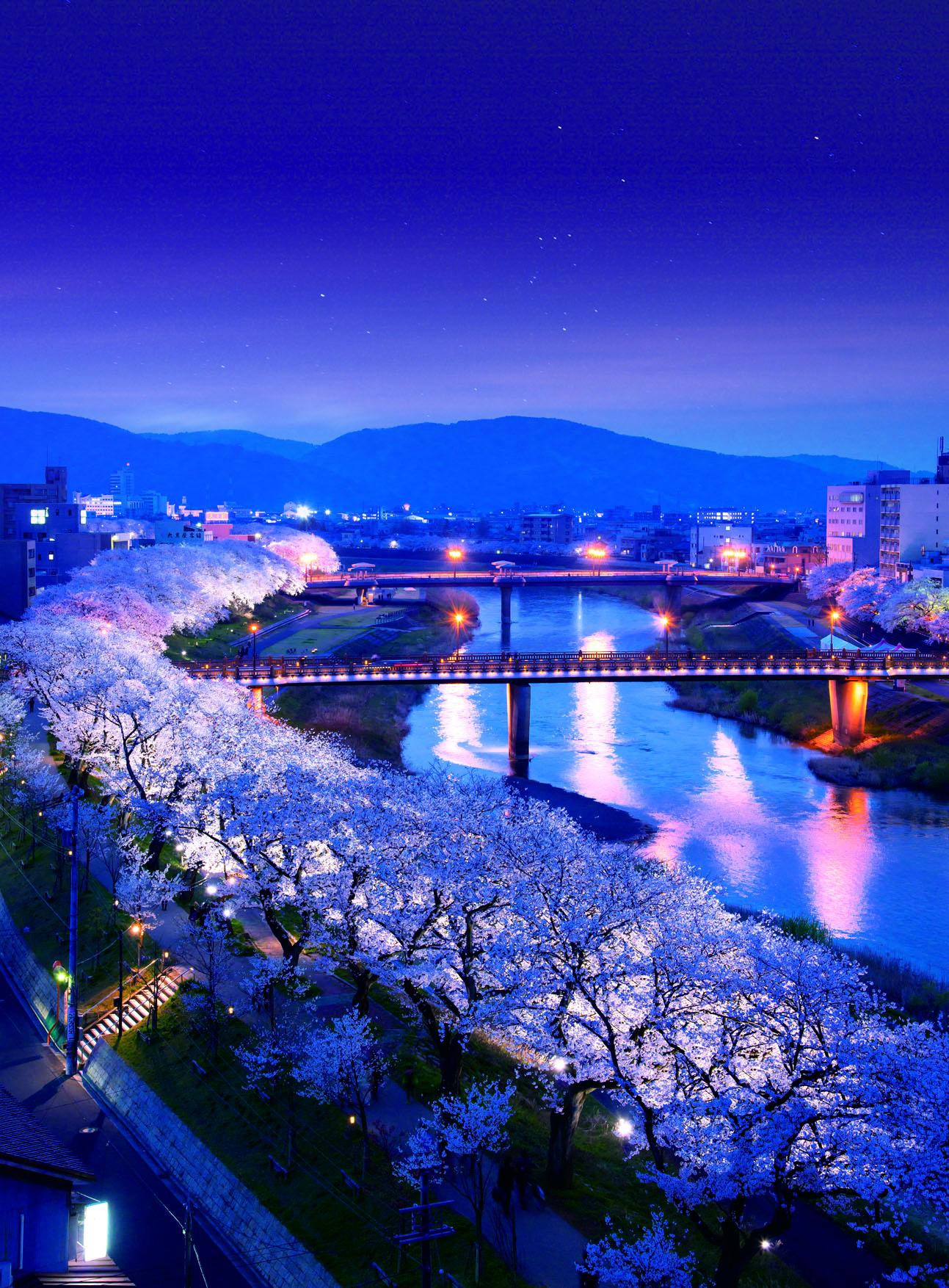 42 福井県福井市「足羽川・足羽山公園」