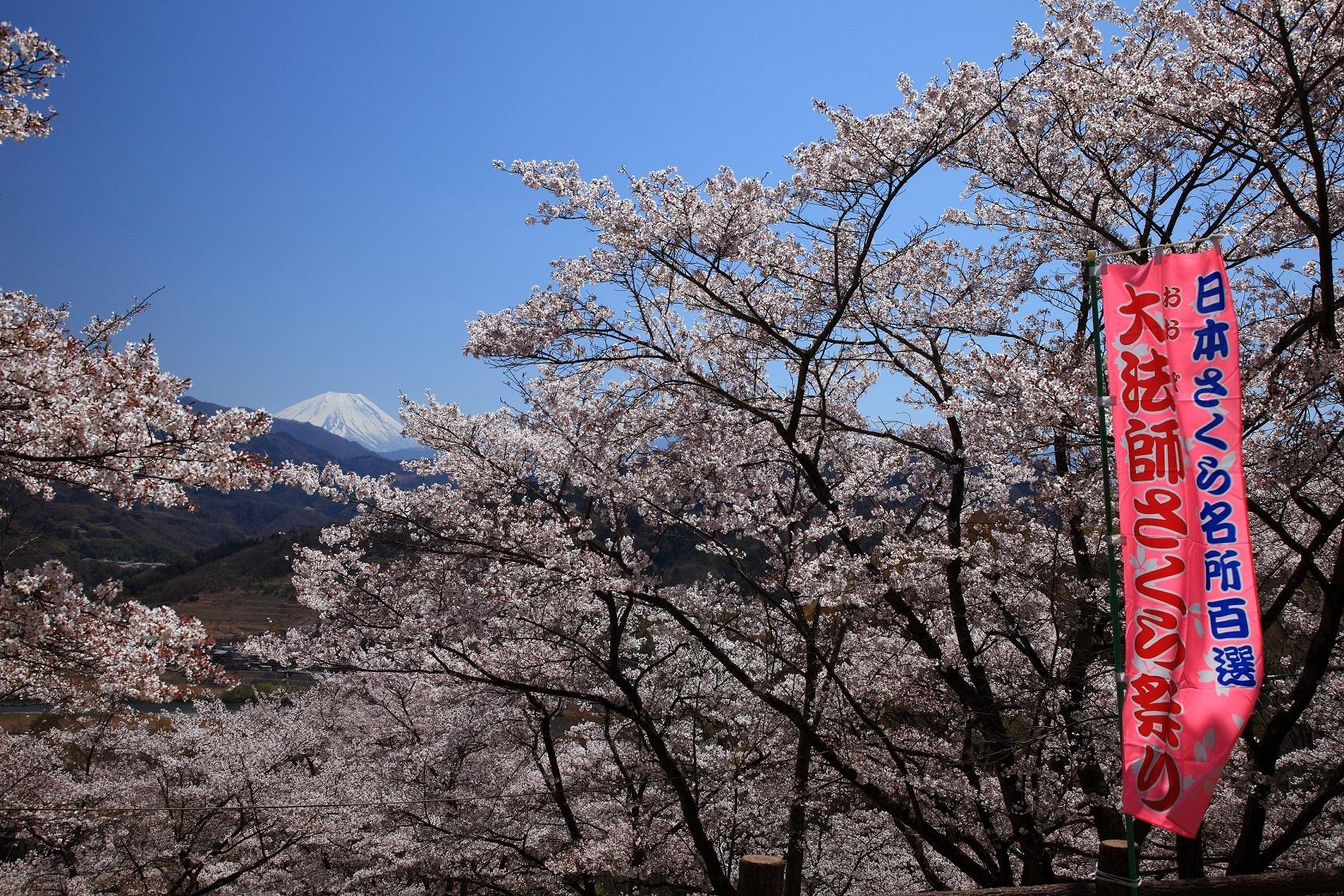 44 山梨県富士川町「大法師公園」